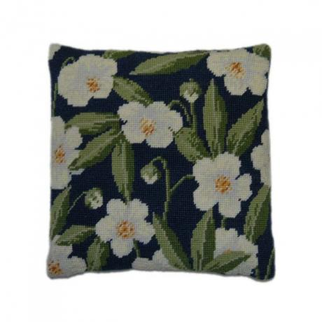 Herb Pillow Tapestry Kits - Pansy Garden