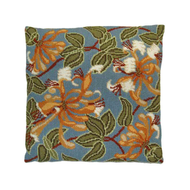 Honeysuckle 14 inch Counted Cushion