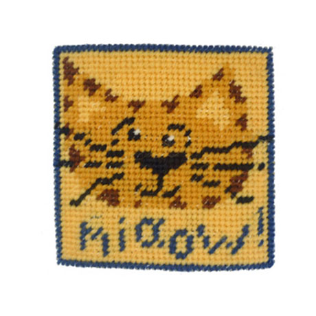 Mini Tapestry Kits - Miaow!