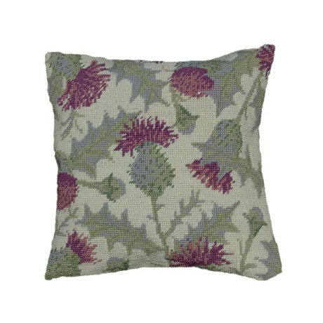 Herb Pillow Tapestry Kits - Thistle