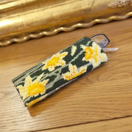 Daffodils (Dark) Spectacle Case - lifestyle image