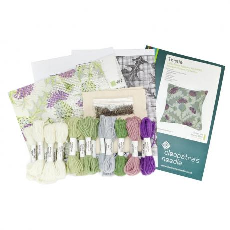 Thistle Herb Pillow - kit contents