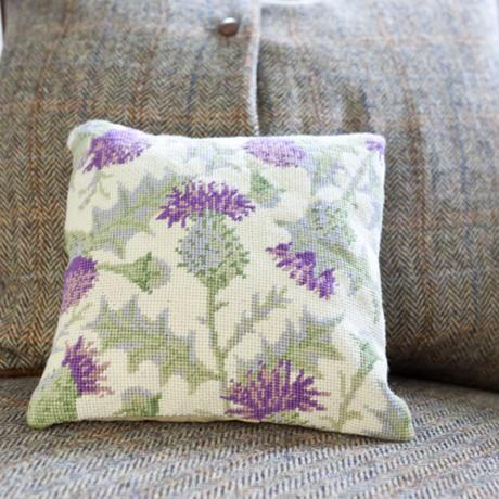 Thistle Herb Pillow - lifestyle image