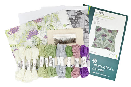 Thistle Herb Pillow Needlecraft Kit